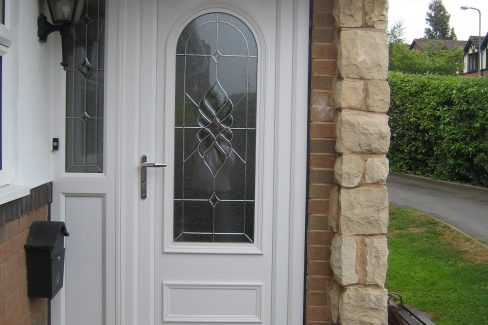 uPVC Residential Front Door, Oxford